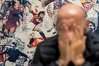 Roma, 14 Novembre, 2017. Il direttore sportivo della AS Roma Ram&oacute;n Rodr&iacute;guez Verdejo, meglio conosciuto come Monchi, nel centro sportivo di Trigoria.<br /> Ph. Antonello Nusca