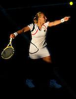 Svetlana Kuznetsova RUS (5) against  Akiko Morigami (JPN) in the first round of the ladies singles.  Kuznetsova beat Morigami  6-3 7-6..Tennis - Wimbledon - Day 2 - Tues 23rd June 2009 - All England Lawn Tennis Club  - Wimbledon - London - United Kingdom..Frey Images, Barry House, 20-22 Worple Road, London, SW19 4DH.Tel - +44 20 8947 0100.Cell - +44 7843 383 012