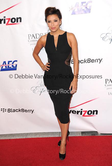 Eva Longoria attends 13th Annual El Sueño de Esperanza Gala at Club Nokia in Los Angeles, California on September 24,2013                                                                               © 2013 Hollywood Press Agency