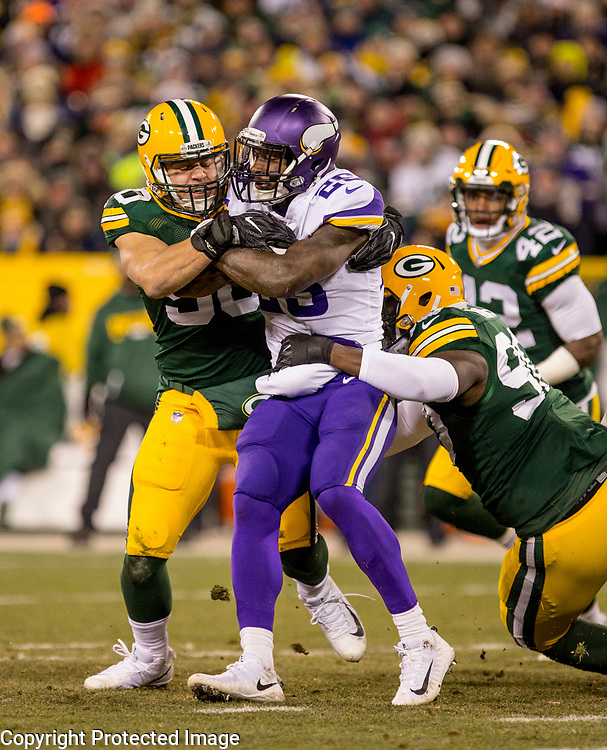 Green Bay Packers vs. Minnesota Vikings at Lambeau Field in Green Bay, Wis., on December 23, 2017. The Packers lost 16-0.
