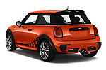 Car pictures of rear three quarter view of 2019 MINI Hardtop-2-Door John-Cooper-Works-Iconic 3 Door Hatchback Angular Rear