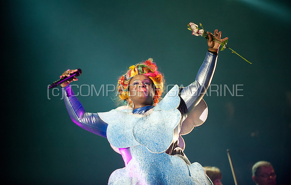 English electronic music duo Basement Jaxx performing at the Night Of The Proms, in Antwerp (Belgium, 14/11/2015)