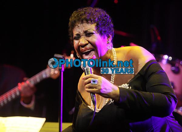 Aretha Franklin, 2011, Photo By John Barrett/PHOTOlink