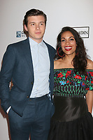 "LOS ANGELES - APR 5:  Nick Robinson, Rosario Dawson at the ""Krystal"" Premiere at ArcLight Hollywood on April 5, 2018 in Los Angeles, CA"