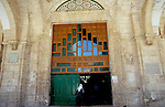 Israel, Jerusalem Old City. The entrance of Al Aqsa Mosque&#xA;<br />