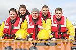 RESCUE: The Ballyheigue Inshore Rescue Services, who took part in the St Patrick's Day Parade in Causeway on Wednesday, L-r: Conor Fay, Ryan Lucid, Sean Reidy, Shane O'Halloran and Brendan Quill.................................. ....