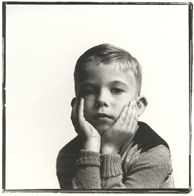 Portrait of Boy 1960