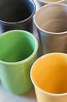 Europe/France/Languedoc-Roussillon/30/Gard/Uzès: Gobelets de la poterie Pichon