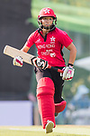 Kary Chan of Hong Kong Women's team runs between the wickets during Day 2 of Hong Kong Cricket World Sixes 2017 match between Hong Kong Women's Team vs The Dragons Team at Kowloon Cricket Club on 29 October 2017, in Hong Kong, China. Photo by Vivek Prakash / Power Sport Images