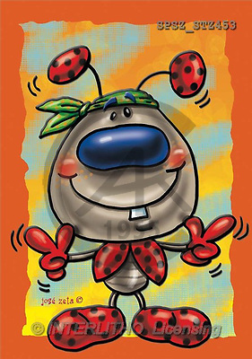 Jose, CUTE ANIMALS, paintings(SPSZSTZ453,#AC#) illustrations, pinturas ,everyday
