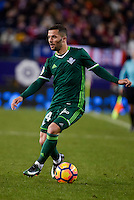 Real Betis's Ruben Castro during La Liga match between Atletico de Madrid and Real Betis at Vicente Calderon Stadium in Madrid, Spain. January 14, 2017. (ALTERPHOTOS/BorjaB.Hojas) /NORTEPHOTO.COM