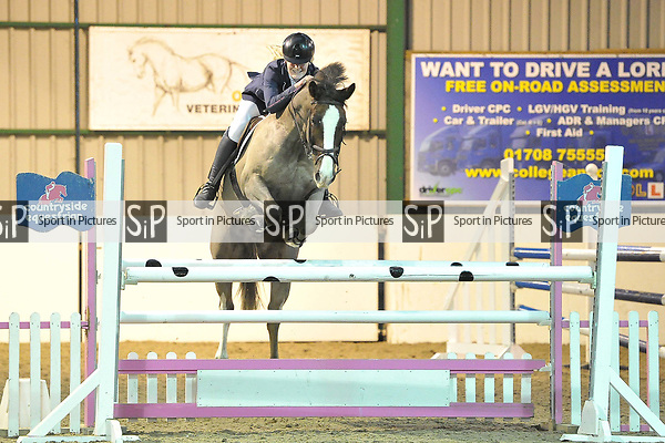Class 6. Area 40 British showjumping christmas show. Brook Farm Training Centre. Essex. UK. 01/12/2018. ~ MANDATORY Credit Garry Bowden/Sportinpictures - NO UNAUTHORISED USE - 07837 394578