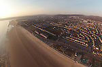 Aerial view of Aberavon and Port Talbot..06.04.13..©Steve Pope