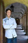 David Eagleman at Corpus Christi during the Sunday Times Oxford Literary Festival, UK, 2-10 April 2011. <br />