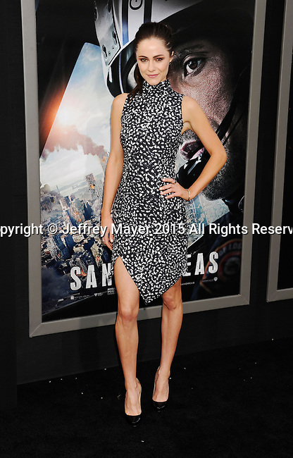 HOLLYWOOD, CA - MAY 26: Actress Alexandra Park arrives at the 'San Andreas' - Los Angeles Premiere at TCL Chinese Theatre IMAX on May 26, 2015 in Hollywood, California.