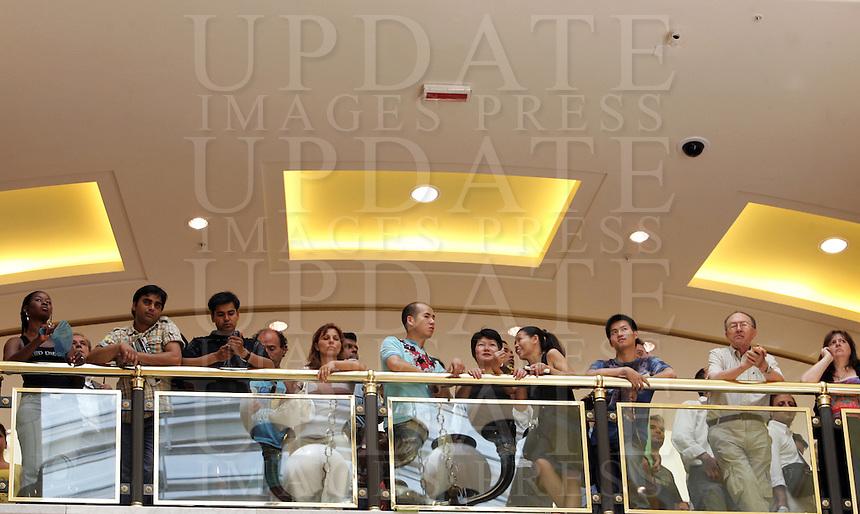 Inaugurazione di Euroma2, il piu' grande centro commerciale d'Europa, a Roma, 23 giugno 2008..Inauguration of Euroma2, the biggest trade center of Europe, in Rome, 23 june 2008..UPDATE IMAGES PRESS/Riccardo De Luca