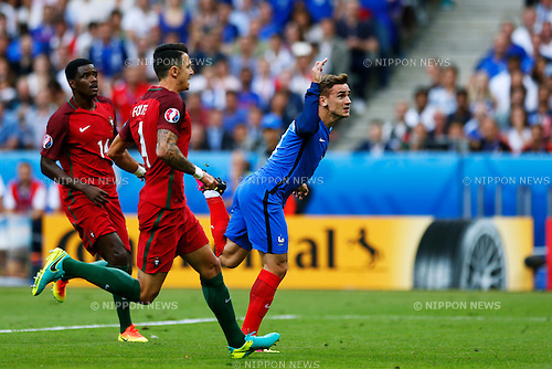 Antoine Griezmann (FRA), JULY 10, 2016 - Football / Soccer : UEFA EURO 2016 Final match between Portugal 1-0 France at Stade de France in Saint-Denis, France. (Photo by D.Nakashima/AFLO)
