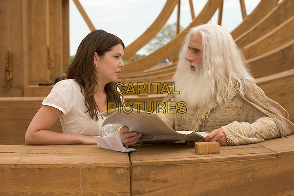 LAUREN GRAHAM & STEVE CARELL.in Evan Almighty .**Editorial Use Only**.CAP/AWFF.Supplied by Capital Pictures