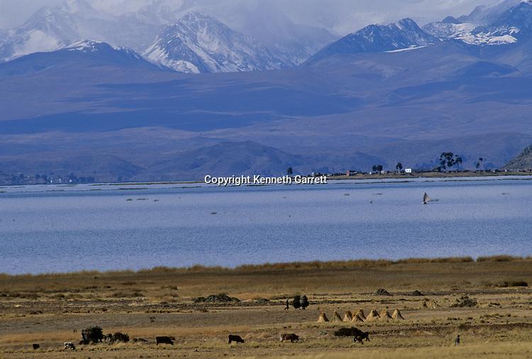 Tiawanaku, Lake Titicaca, Bolivia, Empires of the Sun