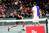 5th November 2017, Paris, France. Rolex Masters mens tennis doubles tournament final;  joie de Lukasz Kubot and Marcelo Melo (Bra)winners of final