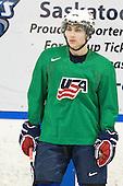 Ryan Bourque (USA - 17) - Team USA practiced at the Agriplace rink on Monday, December 28, 2009, in Saskatoon, Saskatchewan, during the 2010 World Juniors tournament.
