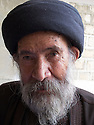 Iraq 2011 <br /> Portrait of an old pir   <br /> Irak 2011 <br /> Portrait d'un pir