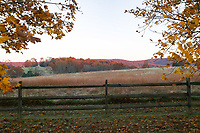 Falls colors across the landscape in Central Virginia. Photo/Andrew Shurtleff Photography, LLC