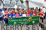 The Coiste na nOg Celebrate 50 years. Parade held in Kenmare today.