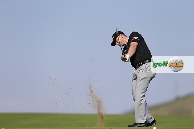 Scott Henry (SCO) on the 10th during the 1st round the The Rocco Forte Open, Verdura Golf &amp; Spa Resort, Agrigento, Sicily, Italy. 18/05/2017.<br /> Picture: Golffile | Fran Caffrey<br /> <br /> <br /> All photo usage must carry mandatory copyright credit (&copy; Golffile | Fran Caffrey)