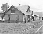 D&amp;RGW Creede depot, perhaps after abandonment.<br /> D&amp;RGW  Creede, CO