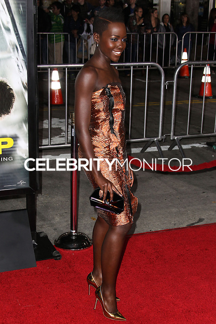 """WESTWOOD, CA, USA - FEBRUARY 24: Lupita Nyong'o at the World Premiere Of Universal Pictures And Studiocanal's """"Non-Stop"""" held at Regency Village Theatre on February 24, 2014 in Westwood, Los Angeles, California, United States. (Photo by Xavier Collin/Celebrity Monitor)"""