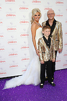 Claire Caudwell, John Caudwell at the 2015 Butterfly Ball, in aid of the Caudwell Children Charity, at the Grosvenor House Hotel. <br /> June 25, 2015  London, UK<br /> Picture: James Smith / Featureflash