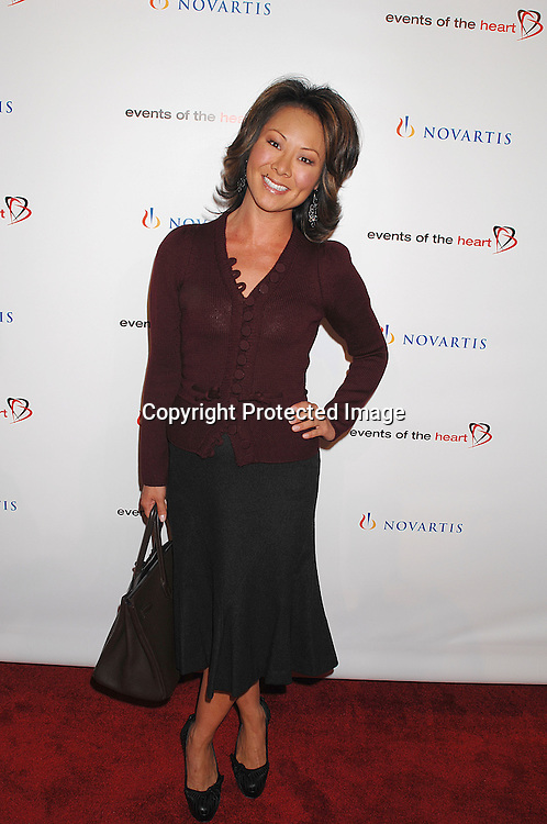 "Alina Cho..arriving at ""Events of the Heart"" Gala on October 1, 2007 ..at Jazz at Lincoln Center.....Photo by Robin Platzer, Twin Images....212-935-0770"