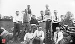 Waterbury Letter carriers' baseball team 30 May 1892.