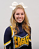 Britney Jahrmarkt of West Babylon poses for a portrait during the Newsday All-Long Island cheerleading photo shoot at company headquarters on Tuesday, Mar. 15, 2016.