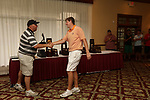 HOWEY IN THE HILLS, FL - MAY 19: Josh Gibson of Hope College accepts his trophy during the Division III Men's Golf Championship held at the Mission Inn Resort and Club on May 19, 2017 in Howey In The Hills, Florida. (Photo by Cy Cyr/NCAA Photos via Getty Images)