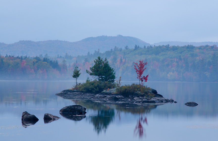 The quiet serenity of Lake Umbagog, in New Hampshire's north country.