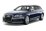 Front three quarter view of a 2008 - 2013 Audi RS6 5 Door Wagon 4WD.