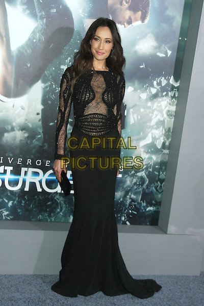 NEW YORK, NY - MARCH 16: Maggie Q at the New York premiere of The Divergent Series: Insurgent at the Ziegfeld Theatre in New York City on March 16, 2015. <br /> CAP/MPI/RW<br /> &copy;RW/MPI/Capital Pictures
