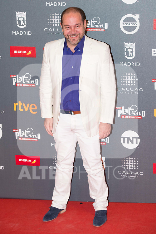 Miguel Ferrari attends to welcome party photocall of Platino Awards 2017 at Callao Cinemas in Madrid, July 20, 2017. Spain.<br /> (ALTERPHOTOS/BorjaB.Hojas)