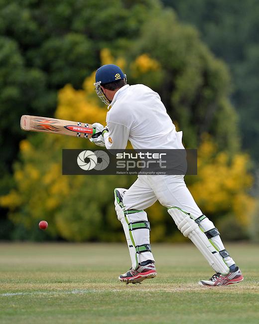 Club Cricket, Car Company Senior Final, Waimea Toi Toi v Wanderers CC 1st XI, Jubilee Park, Richmond Saturday 21th December 2013, New Zealand, Photos: Barry Whitnall/shuttersport