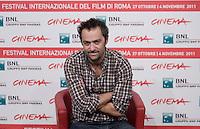 Cédric Kahn..FESTIVAL INTERNAZIONALE DEL CINEMA DI ROMA. ..ROMA CINEMA FEST. ..Une vie meilleure - Photo Call ..Roma, 29 Ottobre 2011 ..Photo Serena Cremaschi Insidefoto
