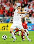 Dariusz Dudka and Christoph Leitgeb at Euro 2008 Austria-Poland 06122008, Wien, Austria