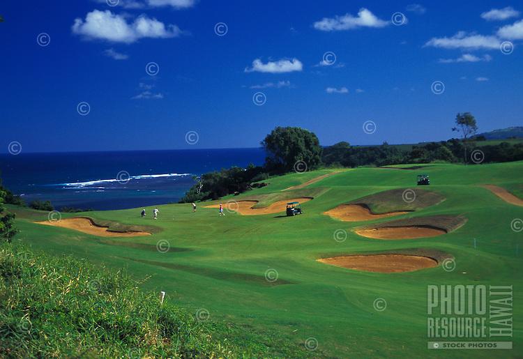 Princeville Prince Golf Course, Kauai north shore.