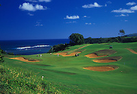 Princeville Prince Golf Course, Kauai north shore.