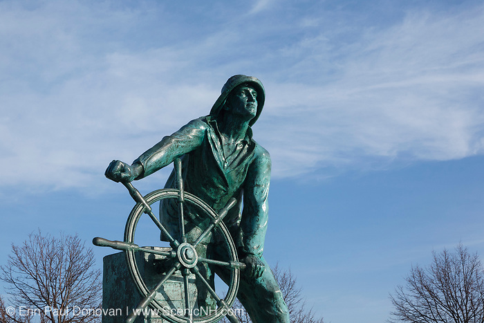"Gloucester Fishermen""s Memorial on Stacy Boulevard in Gloucester, Massachusetts USA , which is part of scenic New England"