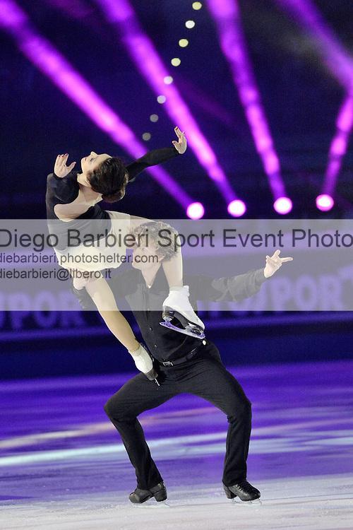 19 dicembre 2015, TURIN, ITALY - Si volge al Palavela di Torino il consueto Golden Skate Awards e Capodanno on Ice. Meryl Davis Charlie White