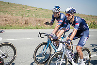 Mathieu Van der Poel (NED/Alpecin-Fenix) <br /> <br /> 'La Primavera' (Spring) in summer!<br /> 111st Milano-Sanremo 2020 (1.UWT)<br /> 1 day race from Milano to Sanremo (305km)<br /> <br /> the postponed edition > exceptionally held in summer because of the Covid-19 pandemic calendar reshuffle
