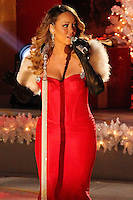 NEW YORK, NY - DECEMBER 03: Mariah Carey attends the 81st Annual Rockefeller Center Christmas Tree Lighting Pre-Tape at Rockefeller Center on December 3, 2013 in New York City. (Photo by Jeffery Duran/Celebrity Monitor)