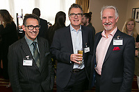Pictured from left are Nic Max of NG1 Group, Alan Boyden of Freestyle Marketing Communications and Parry Leggett of George Square Financial Management